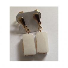 Brinco - Quartzo branco - ID  557